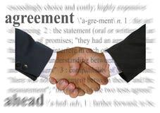 Acuerdo Imagenes de archivo