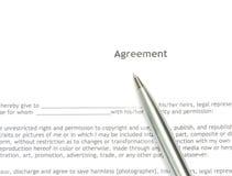 Acuerdo Foto de archivo