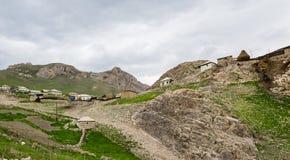 Acuerdo de la montaña, Azerbaijan, región de Quba fotografía de archivo