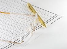 Acuerdo de préstamo Imagen de archivo libre de regalías