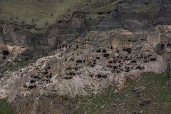 Acuerdo georgiano antiguo de la ciudad de la cueva de Vardsia imagen de archivo