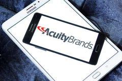 A acuidade marca o logotipo imagem de stock royalty free