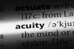acuity Royalty Free Stock Images