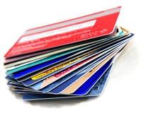 Acumulación del crédito Fotografía de archivo libre de regalías
