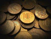 Acumulado del dinero Foto de archivo