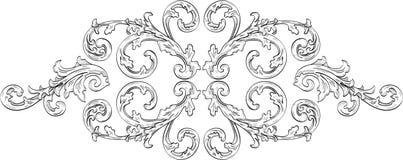 Acunthus aufwändige Blume Stockbilder