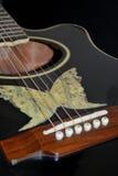 acuostic gitara Obraz Stock