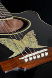 Acuostic guitar Stock Image