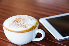 Acup of coffee Royalty Free Stock Image