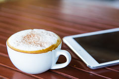 Acup of coffee Royalty Free Stock Photo