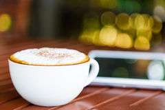 Acup of coffee Royalty Free Stock Images