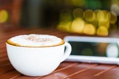 Acup des Kaffees Lizenzfreie Stockbilder