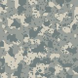 Acupat seamless camo. Grey pattern Royalty Free Stock Images