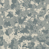 Acupat seamless  camo Stock Image