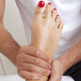 Acupressure Stockfotos