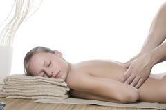 Acupressure-Massage Lizenzfreie Stockfotografie