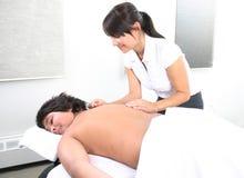 Acupunctura em uma criança Imagem de Stock