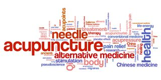 Acupuncture Stock Images