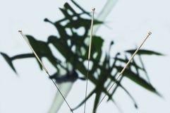 Acupuncture needle Stock Photos