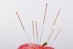 Acupuncture needle Stock Image