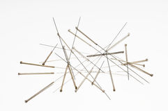 Acupuncture needles Royalty Free Stock Photography