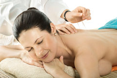 Acupuncture Royalty Free Stock Images