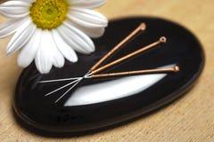 Acupunctuur Stock Foto's