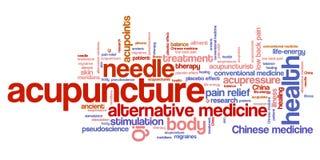 acupunctuur Stock Afbeeldingen