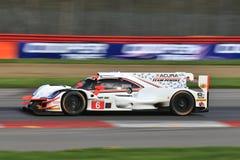 Acura队Penske赛跑 免版税图库摄影