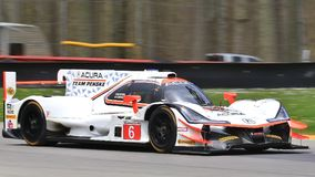 Acura arx-05 Dpi Motorsports Στοκ Φωτογραφίες