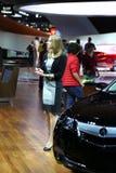 Acura an der Automobilausstellung Stockbilder
