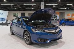 Acura ILX auf Anzeige Lizenzfreie Stockfotografie