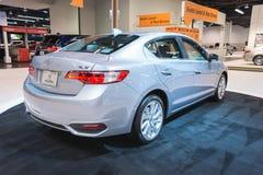 Acura ILX auf Anzeige Lizenzfreies Stockfoto