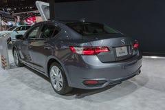Acura ILX auf Anzeige während LA Automobilausstellung Lizenzfreie Stockfotografie