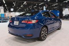 Acura ILX on display Royalty Free Stock Images