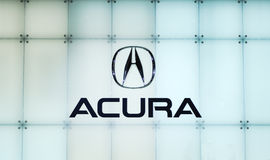 Acura logo Stock Photos