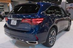 Acura MDX auf Anzeige Stockfotos