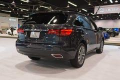 Acura MDX auf Anzeige Lizenzfreie Stockfotografie