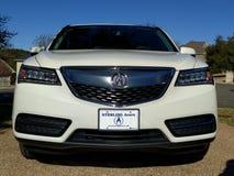 Acura MDX SUV bil royaltyfri bild