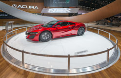 Acura 2016 NSX Lizenzfreie Stockfotografie