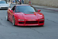 Acura NSX car on display Royalty Free Stock Images