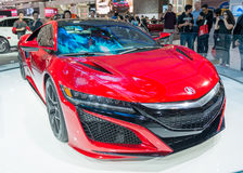 Acura NSX in the CIAS Royalty Free Stock Image