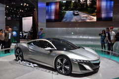Acura NSX Concept Car Royalty Free Stock Image