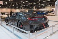 Acura NSX GT3 auf Anzeige Lizenzfreie Stockfotos