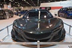 Acura NSX GT3 auf Anzeige Stockfotografie