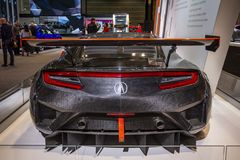 Acura NSX GT3 photographie stock