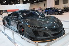 Acura NSX GT3 op vertoning royalty-vrije stock afbeeldingen