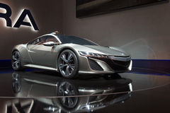 Acura NSX Hybrid Concept Royalty Free Stock Images