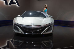 Acura NSX Hybrid Concept Stock Photo