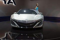 Acura NSX Hybrid Concept Stock Photo